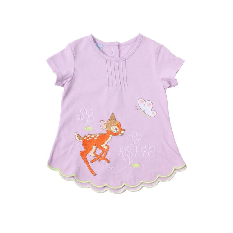 59ba0510 Disney - Bambi T-Shirt Lys Lilla - Altid Billigt på Just4Kids.dk
