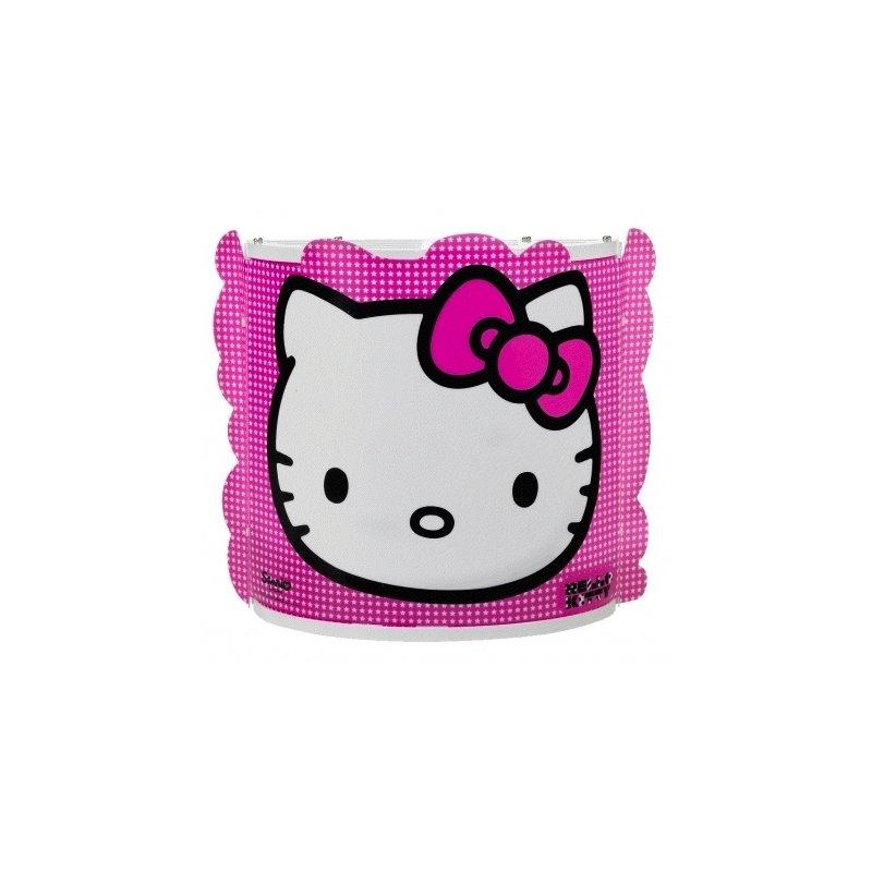 9f9f0940 Hello Kitty Væglampe | Pink m. stjerner
